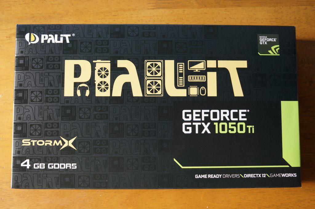 GTX1050Tiの写真