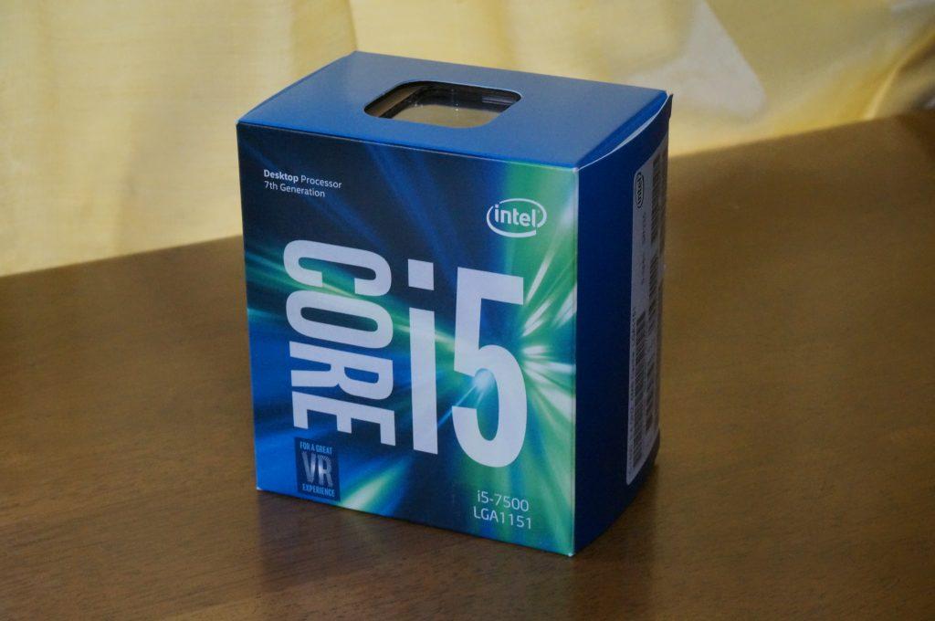 core i5-7500の写真