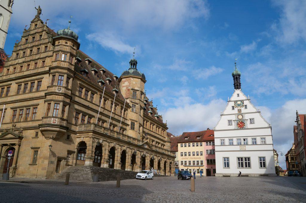 旧市街の中心地